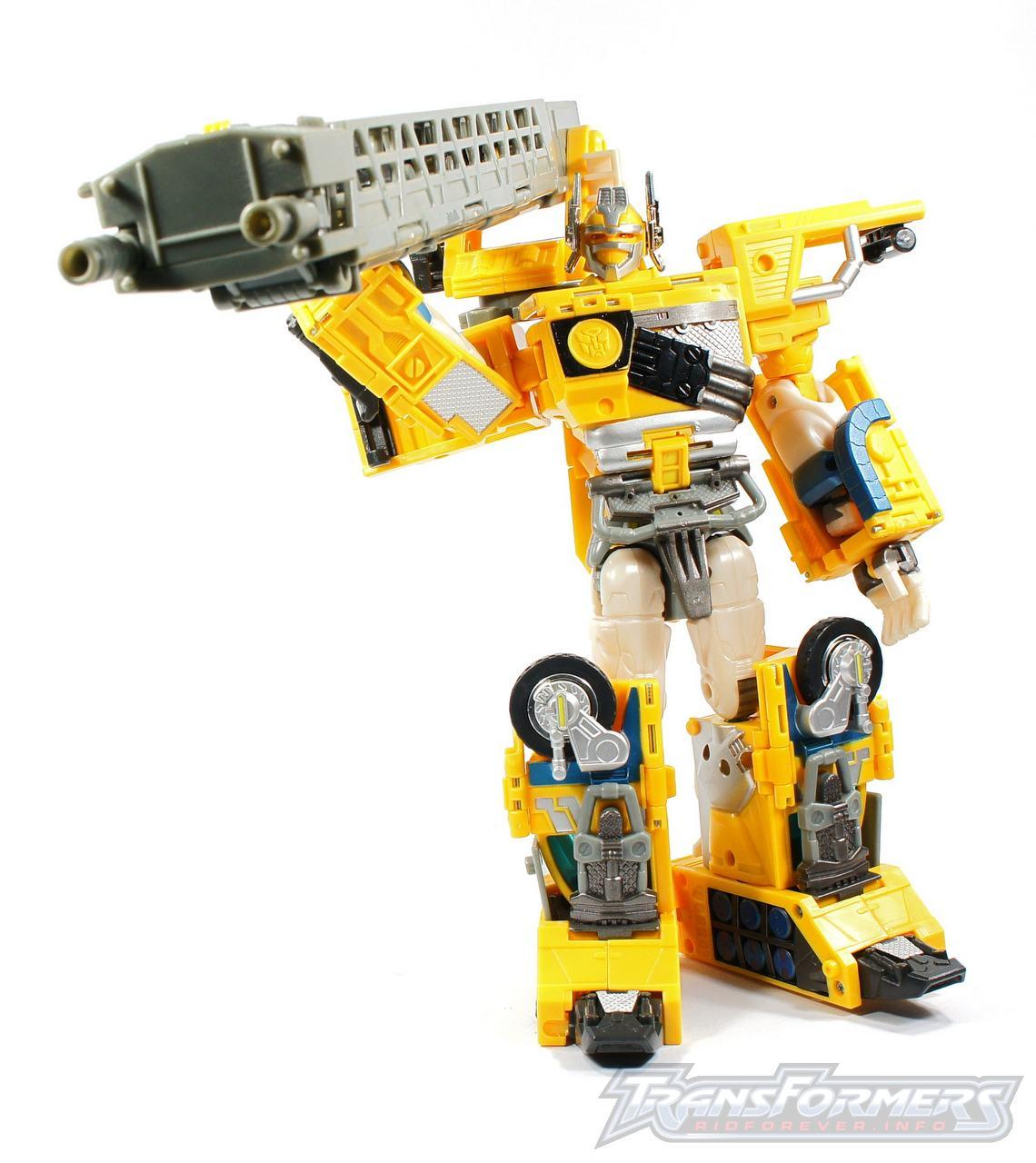 Universe Yellow Optimus Prime 026
