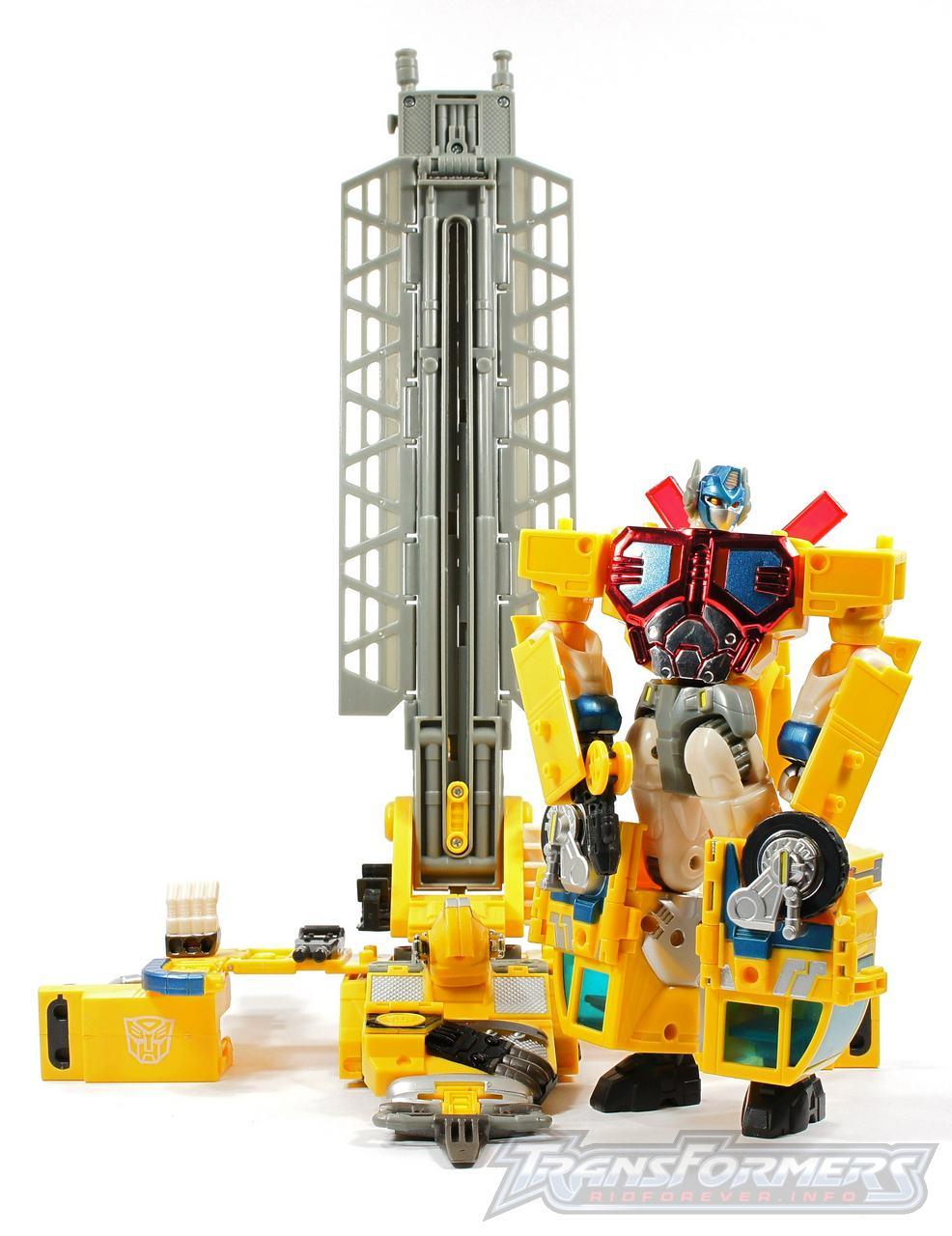 Universe Yellow Optimus Prime 052