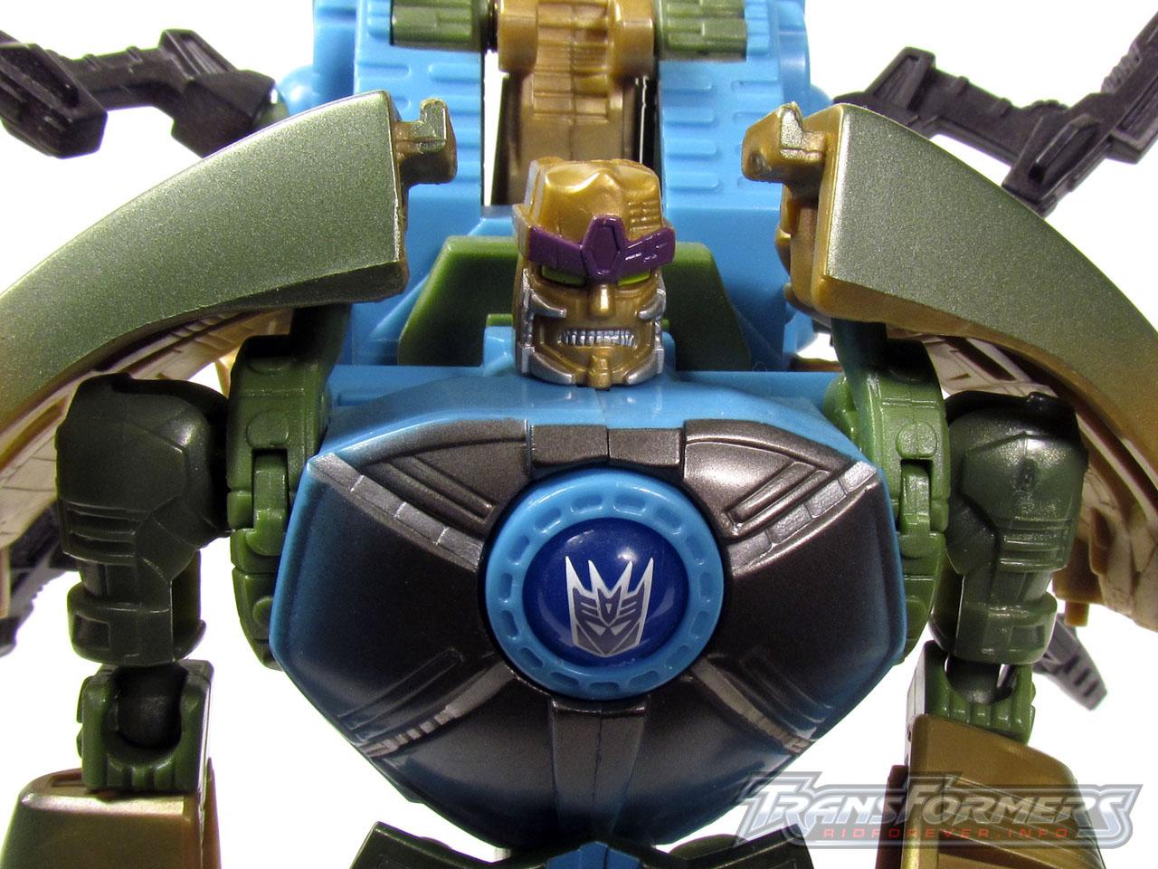 RID Megabolt Megatron Green 006