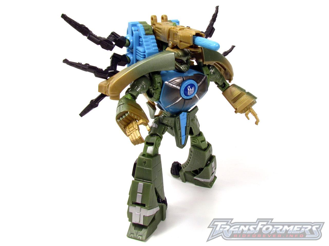 RID Megabolt Megatron Green 008