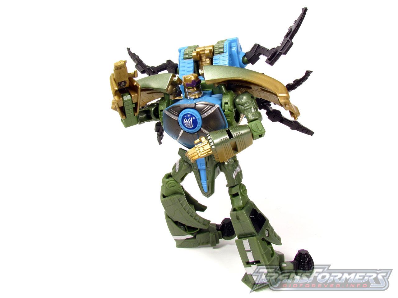 RID Megabolt Megatron Green 012