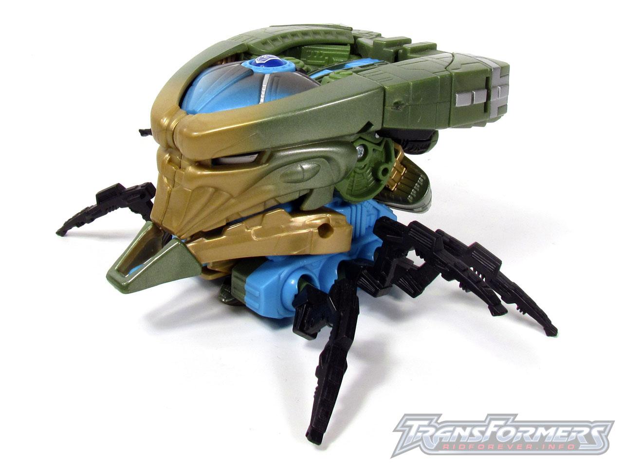 RID Megabolt Megatron Green 013