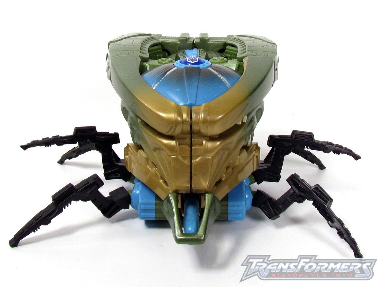 RID Megabolt Megatron Green 015