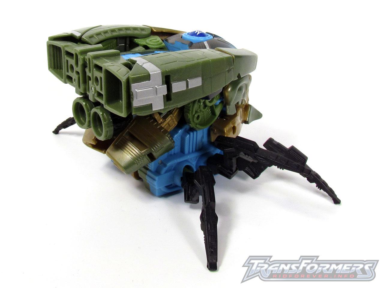 RID Megabolt Megatron Green 017